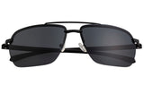 Simplify Lennox Polarized Sunglasses - Black/Black SSU119-BK