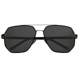 Bertha Brynn Polarized Sunglasses - Silver/Black BRSBR035BK