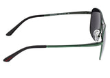 Breed Hera Titanium Polarized Sunglasses - Green/Black BSG054GN