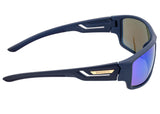 Breed Aquarius Polarized Sunglasses - Navy/Blue BSG060BL