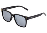 Sixty One Carpi Polarized Sunglasses - Black/Silver SIXS109SL
