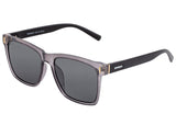 Breed Pictor Polarized Sunglasses - Grey/Black BSG065GY