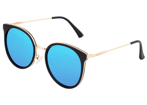 Bertha Brielle Polarized Sunglasses - Black/Blue BRSBR040BL