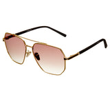 Bertha Brynn Polarized Sunglasses - Gold/Brown BRSBR035BN