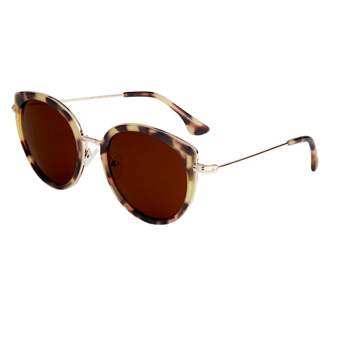 Bertha Reese Polarized Sunglasses - Tortoise/Brown BRSBR044BK