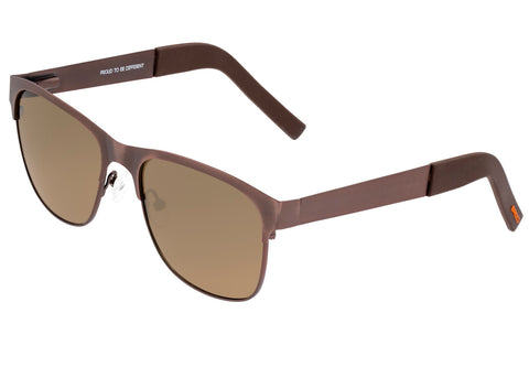 Breed Hypnos Titanium Polarized Sunglasses - Brown/Brown BSG057RB