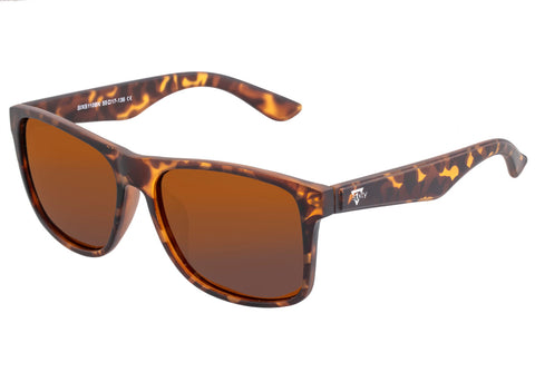 Sixty One Solaro Polarized Sunglasses - Tortoise/Brown SIXS110BN