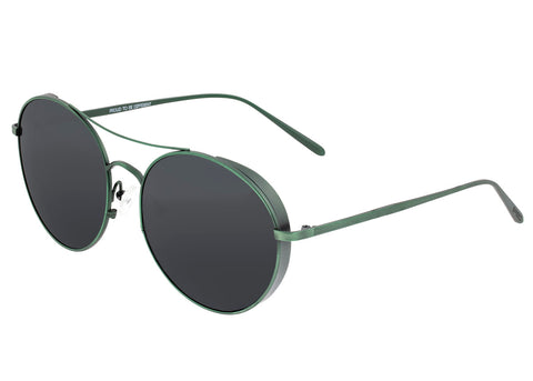 Breed Barlow Titanium Polarized Sunglasses - Green/Black BSG055GN