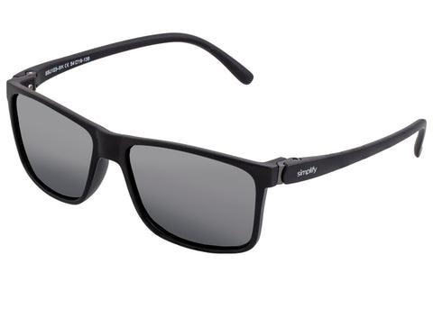 Simplify Ellis Polarized Sunglasses - Gloss Black/Black SSU123-BK