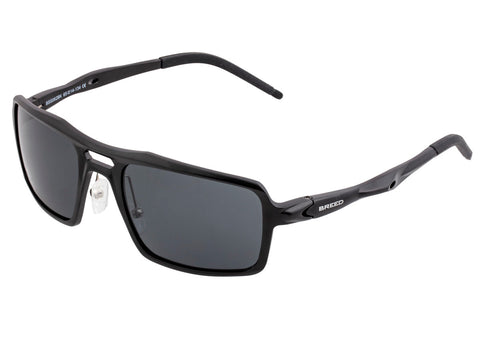 Breed Orpheus Polarized Sunglasses - Black/Black BSG062BK