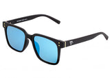 Sixty One Carpi Polarized Sunglasses - Black/Blue SIXS109BL