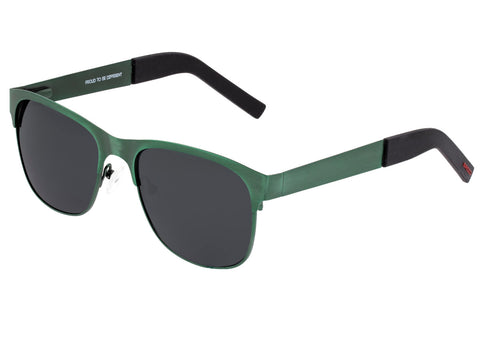 Breed Hypnos Titanium Polarized Sunglasses - Green/Black BSG057GN