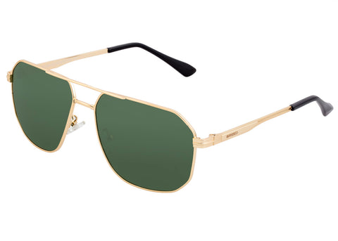 Breed Norma Polarized Sunglasses - Gold/Black BSG064GD