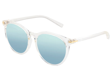 Sixty One Palawan Polarized Sunglasses - Clear/Silver SIXS108CL