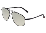 Breed Asteroid Titanium Polarized Sunglasses - Black/Silver BSG052BK