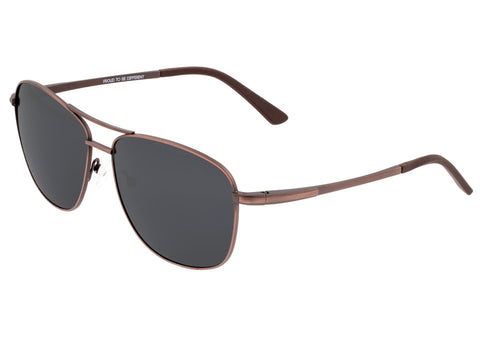 Breed Hera Titanium Polarized Sunglasses - Brown//Black BSG054RB