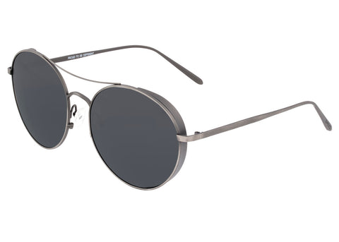 Breed Barlow Titanium Polarized Sunglasses - Gunmetal/Black BSG055GY