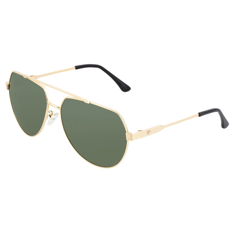Sixty One Costa Polarized Sunglasses - Gold/Black SIXS111GD