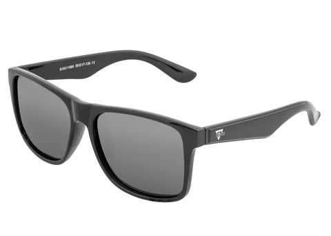 Sixty One Solaro Polarized Sunglasses - Black/Black SIXS110BK