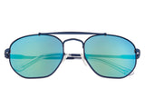 Sixty One Stockton Polarized Sunglasses - Blue/Blue-Green SIXS103BL