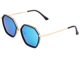 Bertha Ariana Polarized Sunglasses - Black/Blue BRSBR038BL