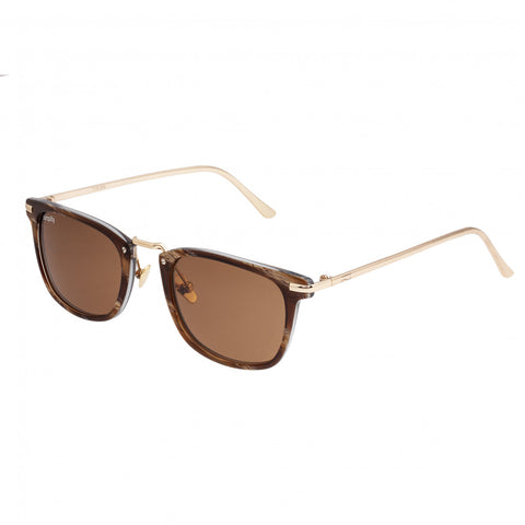 Simplify Theyer Polarized Sunglasses - Brown/Brown SSU118-BN