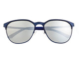 Sixty One Corindi Polarized Sunglasses - Blue/Silver SIXS102BL