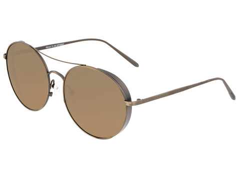 Breed Barlow Titanium  Polarized Sunglasses - Bronze/Brown BSG055BN