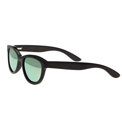 Bertha Carly Buffalo-Horn Polarized Sunglasses - Black/Green BRSBR009BG