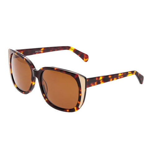 Bertha Natalia Polarized Sunglasses - Tortoise/Brown BRSBR016G