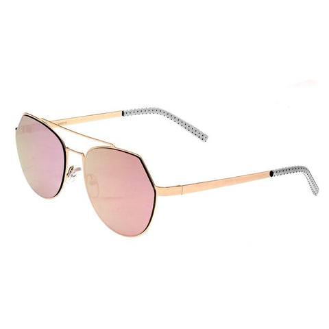 Bertha Hadley Sunglasses - Rose Gold/Pink BRSBR021RG
