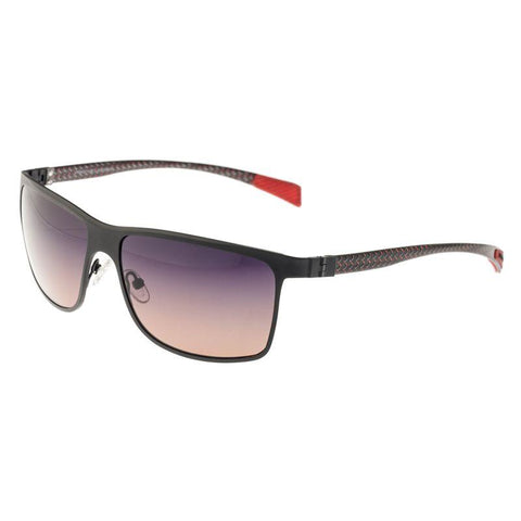 Breed Equator Titanium and Carbon Fiber Polarized Sunglasses - Black/Black BSG002BK