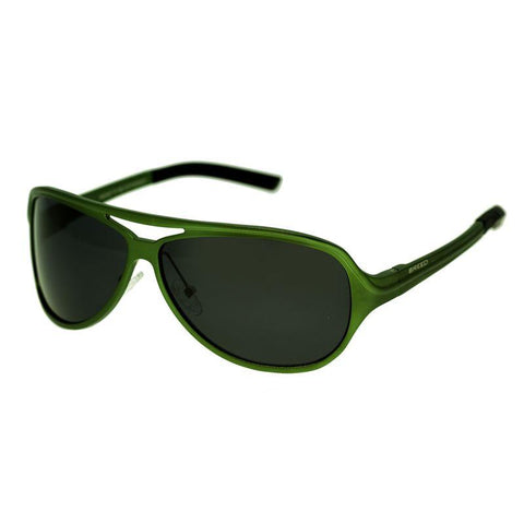 Breed Langston Aluminium Polarized Sunglasses - Green/Black BSG012GN