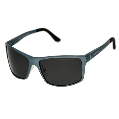 Breed Kaskade Aluminium Polarized Sunglasses - Blue/Black BSG016BL