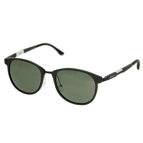 Breed Orion Aluminium Polarized Sunglasses - Black/Black BSG020BK