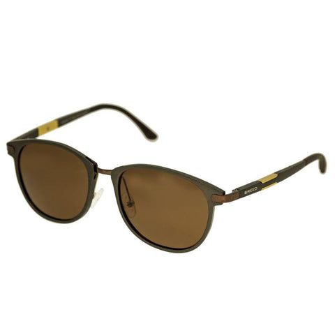 Breed Orion Aluminium Polarized Sunglasses - Brown/Brown BSG020BN