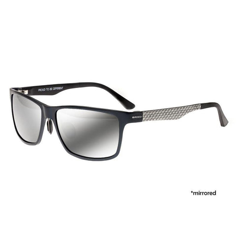 Breed Vulpecula Titanium Polarized Sunglasses - Blue/Black BSG029BL