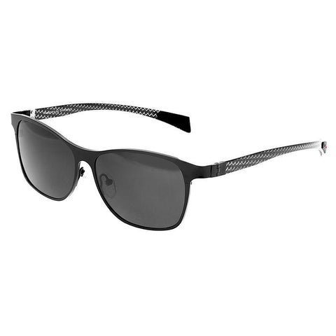 Breed Templar Titanium Polarized Sunglasses - Black/Black BSG035BK