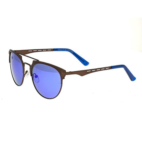 Breed Hercules Titanium Polarized Sunglasses - Brown/Blue BSG039BN