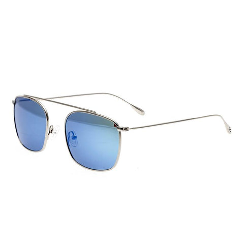 Simplify Collins Polarized Sunglasses - Silver/Blue-Green SSU104-SR