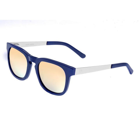 Sixty One Twinbow Polarized Sunglasses - Periwinkle/Green SIXS132GG