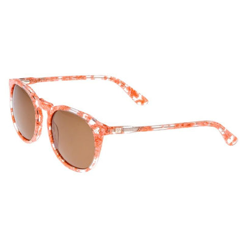 Sixty One Vieques Polarized Sunglasses - Pink Tortoise/Brown SIXS135BN