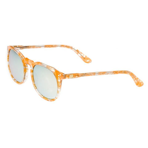 Sixty One Vieques Polarized Sunglasses - Peach Tortoise /Gold SIXS135GD