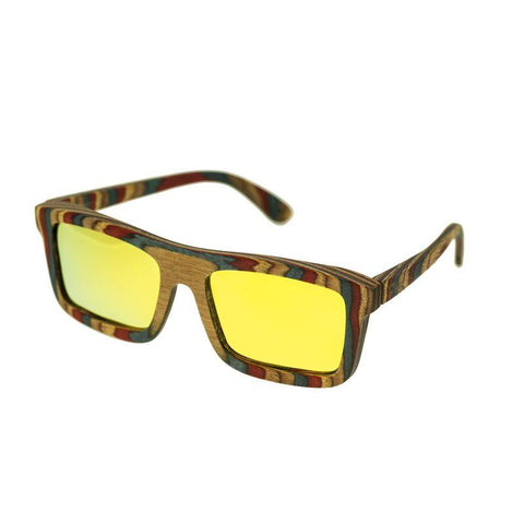 Spectrum Philbin Polarized Sunglasses - Multi/Gold SSGS116GD
