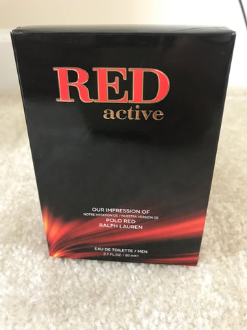 Red Active Perfume for Mens