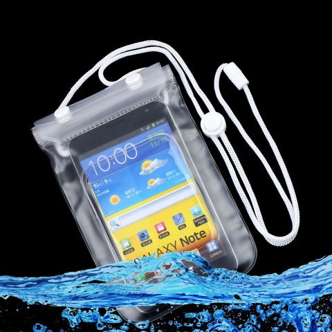 Waterproof Dry Bag Mobile Phone Case Transparent With Scrub Wholesale Drop Shipping