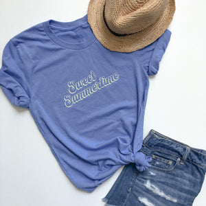 Sweet Summertime Adult Tee