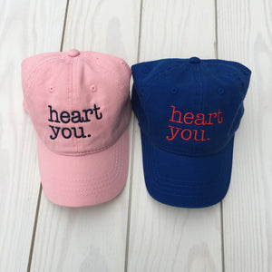 Heart You Baseball Hat (Youth)