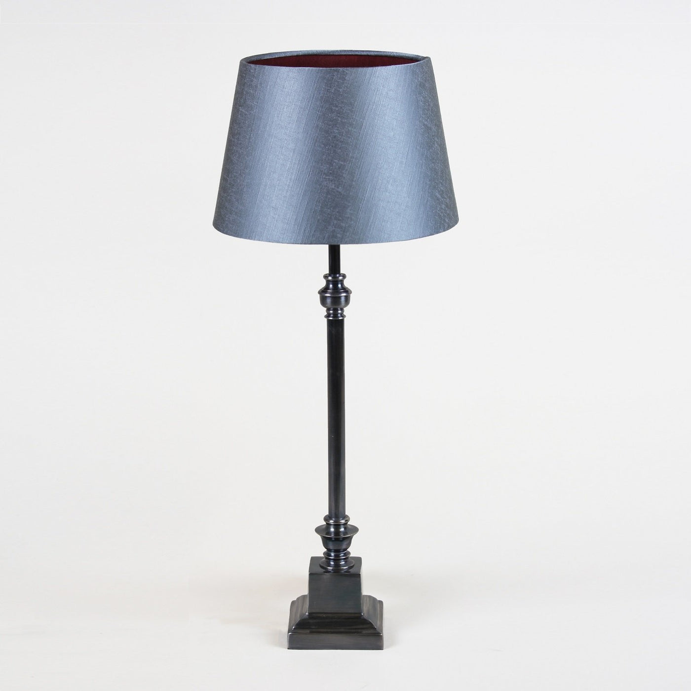 Empire Antiqued Pewter Table Lamp