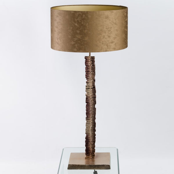 Paperbark Champagne Brown Medium Table Lamp